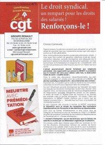 Bulletin du Syndiqué_Groupe Renault