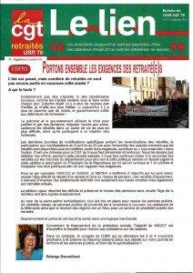 2015 09_Le Lien N°9_Bulletin des Retraités_USR CGT 76